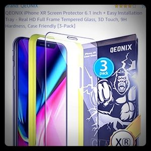 Qeonix glass protection